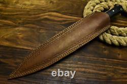 17 Custom Handmade Fixed Blade D2 Tool Steel Hunting Dagger Roman Gladius Knife