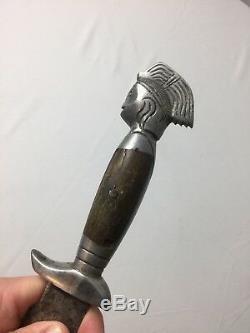 Ancient Aztec Mayan Mexican Dagger Sword Knife