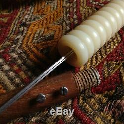 Antique Dagger Bronz Mace Sabers Hunter Knife Wood Fight Gun Rifle Steel Blade