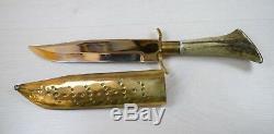 Antique Military Grade Steel KINTEX Handmade Made Big Military Knife Dagger