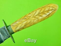 Antique Old English British MAZEPPA Fighting Knife Dagger