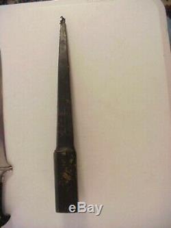 Antique PERSIAN PESH-KABZ or KYBER CHOORA WWI DAGGER FIGHTING KNIFE