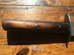 Antique fighting knife WW1 Austro-Hungary, Vintage Trench dagger