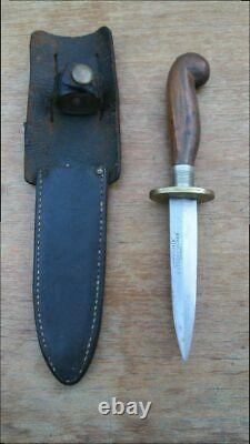 BEAUTIFUL Antique GERMANIA CUTLERY Germany Carbon Steel Dagger Fighting Knife