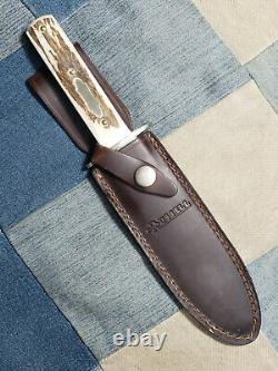 BEAUTIFUL MINT J Russell & Co Green River Works Bowie Dagger Knife