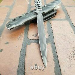 Barry Dawson Knives G3 6 Dagger Fixed Blade Knife #008 2016 kryptek kydex USA