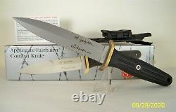 Boker Applegate-Fairbairn Combat Knife Double Edge New Old Stock Fighting Knife