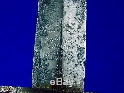 British English WW2 Wilkinson Fairbairn Sykes 2 Type Named Fighting Knife Dagger
