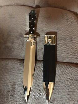 Buster Warenski Custom Dagger Knife/sheath-loveless Era
