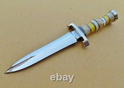 CHARLES McCONNELL CUSTOM COMBAT STYLE DAGGER KNIFE KNIVE BEAUTIFUL