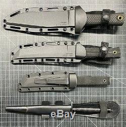 Cold Steel knives Recon Fairbairn & Sykes lot of 4 Tanto, Dagger, Recon