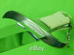 Custom Hand Made HALE Large Stiletto Fighting Knife Dagger & Sheath