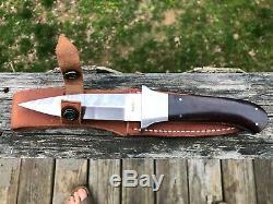 Custom Handmade RON GASTON Woodruff South Carolina Dagger Fighting Knife