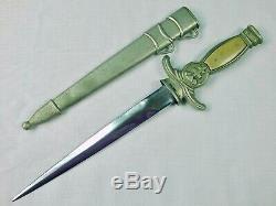 Czechoslovakian Czechoslovakia Slovak WW2 WWII Dagger Fighting Knife with Scabbard