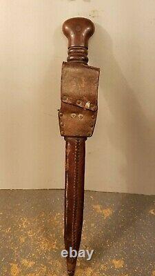 Dutch Netherlands WW2 WWII Dagger Fighting Knife with Sheath