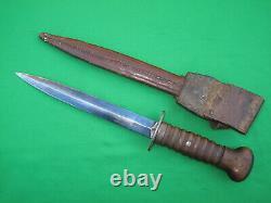 Dutch or German WW2 Trench Fighting Knife Dagger