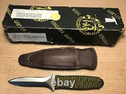 EK Boot Dagger Knife Rare Made In USA Excellent