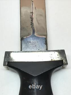 ERN Solingen German WW2 Dagger Fighting Knife With Original Sheath RARE