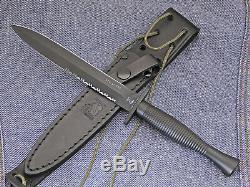 Eickhorn Knife Fairbairn Sykes Dagger LIMITED EDITION FS2000 Tactical SERRATED