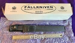 Fallkniven MC1 dagger bayonet mine clearing knife SOLID full tang new HUGE