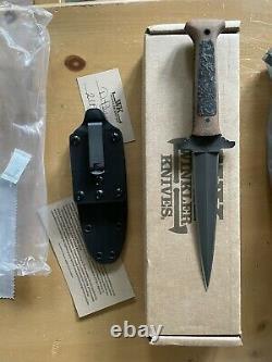 GBRS GROUP x WINKLER KNIVES Combat Dagger TAN (SupDef Forward Observations)
