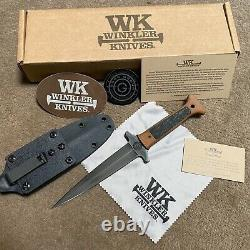 GBRS GROUP x WINKLER KNIVES Combat Dagger Tan