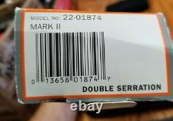 GERBER USA MARK II DAGGER SURVIVAL COMBAT FIGHTING KNIFE WithSHEATH 22-01874 NMIB