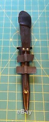 Genuine type 2 J Nowill & Sons Fairbairn-Sykes black Commando Fighting Knife