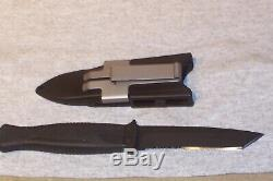 Gerber Guardian Backup Boot Knife Rare Tanto Dagger Never Used Made In The USA
