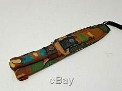 Gerber Guardian II Knife Combat Dagger Camo R. W. Loveless Design 1983-1987