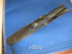 Gerber Mark II Combat Dagger MK2 fihgting Knife serial # 089813