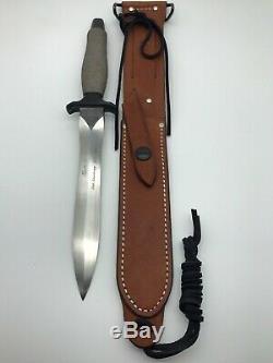 Gerber Mark II Dagger Survival Knife 2806 of 5000 20th Anniversary 1966-1986