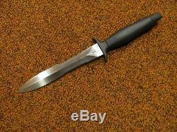 Gerber Mark II combat double serrated survival knife with original sheath 1978