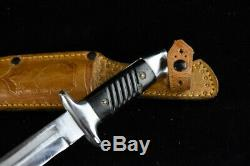 German Bulgarian Combat Trench Knife K98 Remake Dagger With Scabbard Ww2 Wwii