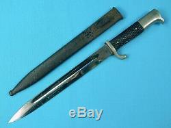 German Germany WW2 Dress Dagger Fighting Knife & Scabbard
