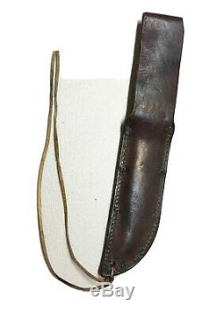 German Hunting Fighting Dagger Knife G. C. Co Solingen Numbered WithSawback Sheath