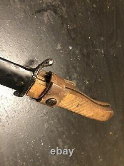 German WW1 WWI Trench Fighting Knife Dagger Hughes #10 MINT DEMAG Kampfmesser