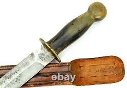 Good Vintage Mexican Fighting Dagger Knife