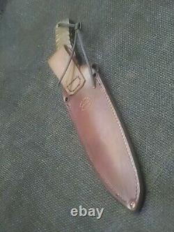 Hand Made 1095 Fighting Dagger Knife By Mark Mccoun