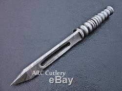 Handmade Tri Dagger Kris Blade Handforged Damascus Steel Rare Csgo Hunting Knife