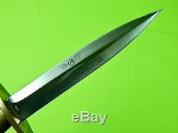 Japan Made Limited BOKER APPLEGATE First Combat OSS Fighting Knife Dagger Sheath