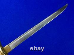 Japanese Japan WW2 Navy Officer's Dagger Fighting Knife with Scabbard