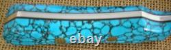 Jim Ort OZ Custom Fighting Stiletto Dagger Fixed Blade Knife, Turquoise