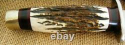 Jim Ort OZ Customized Tactica WW1 Bayonet Blade Fixed Blade Knife, Custom Sheath