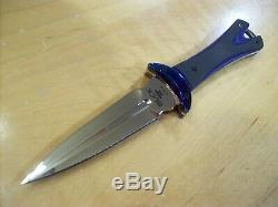 Limited Edition Buck Knife 234 Glint Dagger Timascus G10 Handle Le #205/250