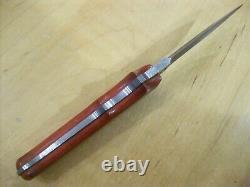 Limited Edition Buck Knife 970 Damascus Dagger Mint Gem Nos 2001 #104/1000