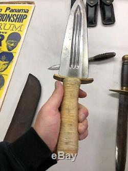 Medieval ornate dagger knife short sword antique vtg Lot Of 4