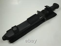 New German Eickhorn Infantry Km 5000 Combat Knife Dagger With Sheath Look