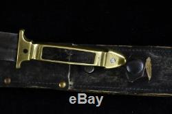 Old WWI WWII Ottoman Turkish Imperial Knife Dagger 19 Century Trench Art Combat
