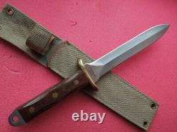 Orig. Combat DAGGER made by MAGNUM 440 Stainless Steel 80/90th great KNIFE